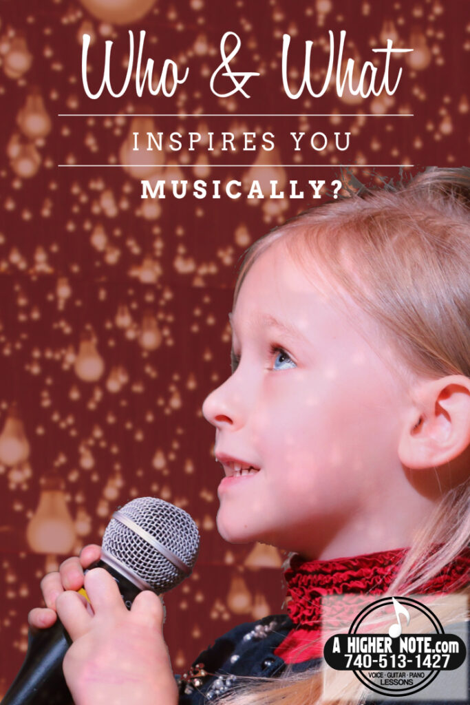 Please share who has inspired you vocally in the comment section below.