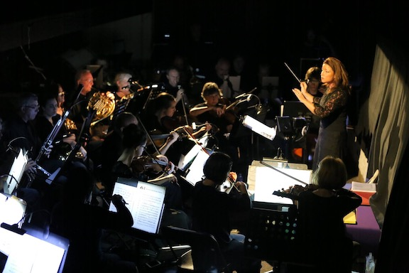 Sarah Pearson Conducting Cleveland Orchestra of TN
